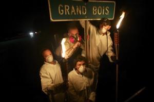 Houma Residents of Grand Bois (c) Joy Tessman 2010