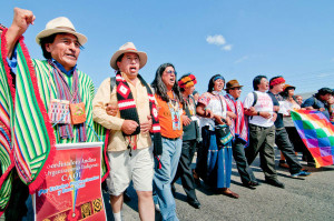 La Via Campesina March, COP16 Cancun. Photo by Allan Lissner
