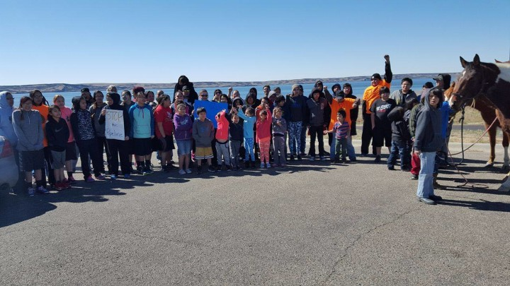 Lakota Youth Running 500 Miles In Opposition of Dakota Access Pipeline