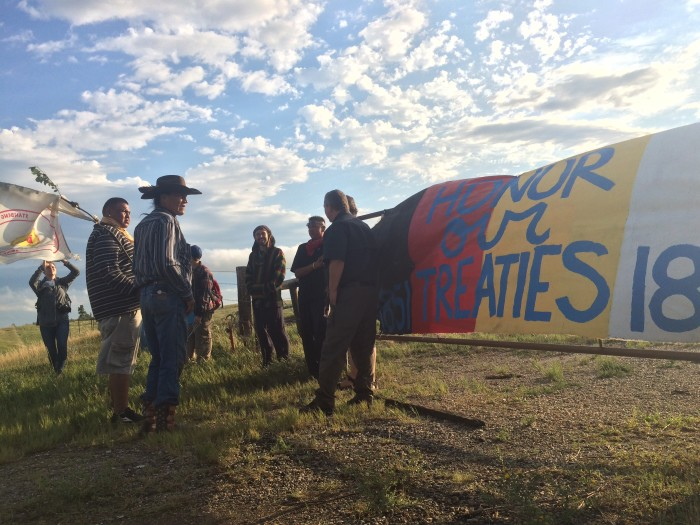 Spirit Camp Warriors Stand in Path of the Dakota Access Pipeline