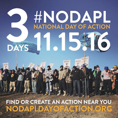 Thousands Will Join Actions on Tuesday to Stop the Dakota Access Pipeline